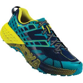 Hoka One One Speedgoat 2 Buty do biegania Mężczyźni żółty/niebieski